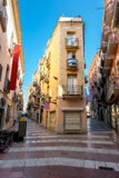Figueres street, Catalonia, Spain Stock Image