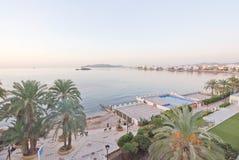 Figuereta bay in bright sunshine Royalty Free Stock Photos