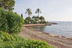 Figueretas小海滩 免版税图库摄影