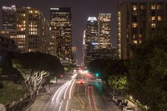 Figueroa Street Royalty Free Stock Images