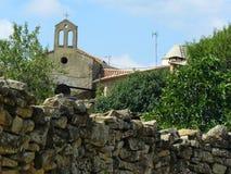 Figuerola de Meia,莱里达省,西班牙 免版税库存图片