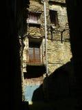 Figuerola de Meia,莱里达省,西班牙 图库摄影
