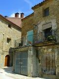 Figuerola de Meia, Lérida, España Imágenes de archivo libres de regalías