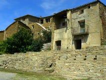 Figuerola de Meia, Lérida, España Fotos de archivo libres de regalías