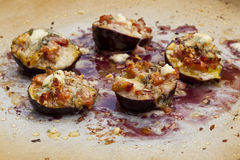 Figues cuites au four Image libre de droits