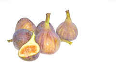 Figues d'isolement. Image stock