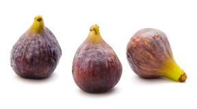 Figues d'isolement Photo stock