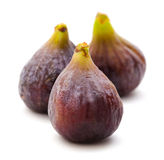 Figues d'isolement Images stock