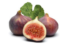 Figues et lame images stock