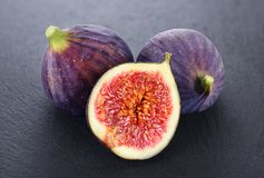 Figues fraîches Photo libre de droits