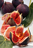 Figues fraîches Photo stock
