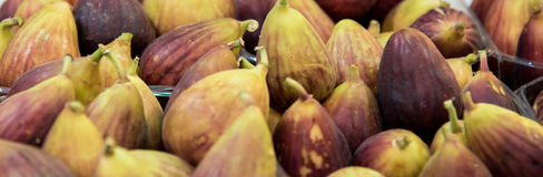 Figues fraîches Photographie stock