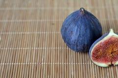 Figues fraîches photographie stock libre de droits