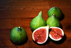 Figues mûres douces Image stock