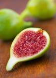 Figues vertes fraîches Image stock