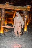Salt mine royalty free stock photography