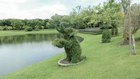 Figura árbol del elefante del enano Fotografía de archivo