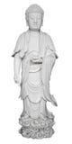 Figura antigua de la porcelana de dios chino Imagenes de archivo