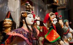Figura asiática bonecas da arte imagem de stock royalty free