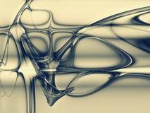 Figura astratta Fotografia Stock