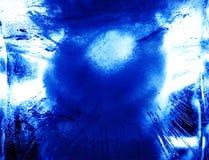Figura astratta del ghiaccio, modello 2 Fotografia Stock Libera da Diritti