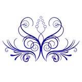 Figura bandera de la rama Imagen de archivo libre de regalías