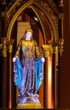 Figura bendecida de la Virgen María Fotos de archivo libres de regalías