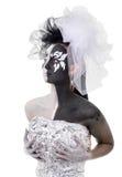Figura in bianco e nero fotografie stock
