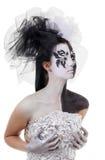Figura in bianco e nero Immagine Stock