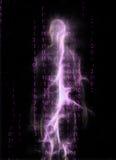 Figura binaria diseño Imagenes de archivo