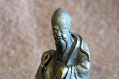 Figura bronzea Immagine Stock Libera da Diritti