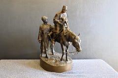 Figura bronzea Fotografia Stock Libera da Diritti