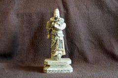 Figura bronzea del samurai Immagine Stock