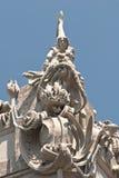 Figura central de la casa de las quimeras Fotos de archivo