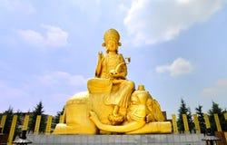 A figura chinesa da Buda Fotos de Stock Royalty Free