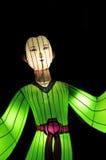 Figura chinesa do festival de lanterna Imagem de Stock