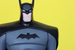 Figura cierre de Batman para arriba Fotos de archivo libres de regalías