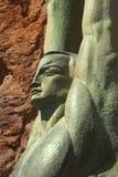 Figura coa alas de la república en la Presa Hoover Fotos de archivo libres de regalías