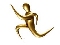 Figura corriente del icono del deporte Fotos de archivo