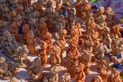 Figura a cosacos de las migas de pan La imagen de la cultura étnica Foto de archivo libre de regalías