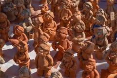 Figura a cosacos de las migas de pan La imagen de la cultura étnica Foto de archivo