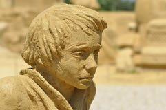 Figura da areia Foto de Stock