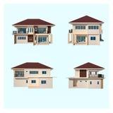 Figura da casa isolada Imagem de Stock Royalty Free