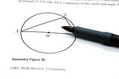 Figura da geometria Imagens de Stock Royalty Free