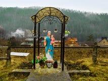 A figura da mãe do deus Imagens de Stock Royalty Free