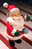 Figura da miniatura de Papai Noel Fotografia de Stock Royalty Free