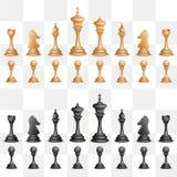 Figura da xadrez ilustração stock