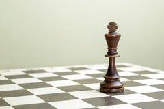 Figura da xadrez o rei Fotos de Stock