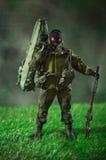 Figura de acción del soldado del hombre del juguete Fotos de archivo