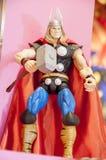 Figura de acción del Thor Foto de archivo libre de regalías